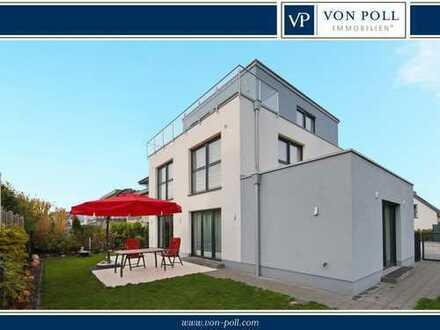 Hochwertiges Bauhaus in beliebter Nachbarschaft