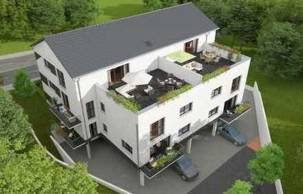 Schöne 3 bis 4 Zimmer niedrig Energie Wohnung im Zentrum von Cadolzburg in KfW 40 Standart Bauweise