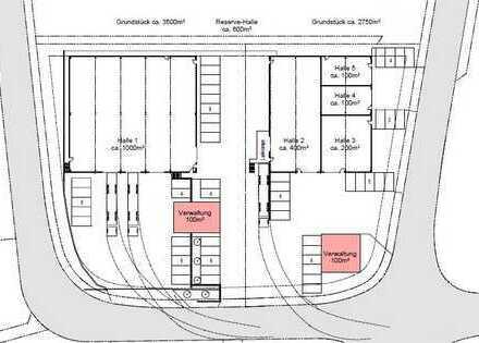 NEUBAU! Moderne Halle (200 m²) auf Wunsch mit Büro in 56736 Kottenheim zu vermieten