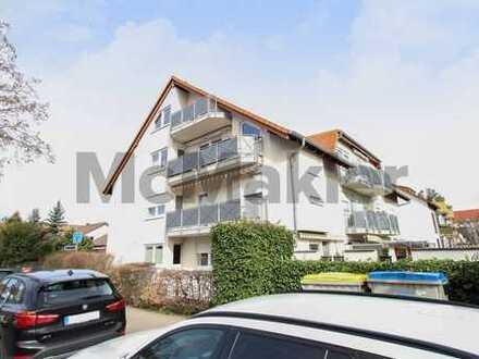 Modern und urban wohnen: 5-Zi.-Maisonette mit 2 Balkonen und Top-Anbindung