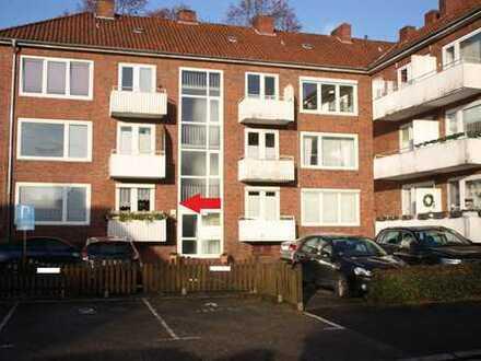 3 Zimmer Erdgeschosswohnung mit Balkon und Stellplatz in TOP-Innenstadtlage zu verkaufen!