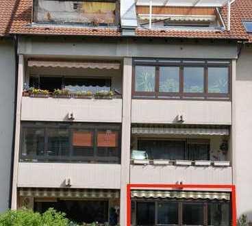 Moderne 3-Zimmer-ETW mit Loggia und Garage in sehr ruhiger Vorort-Wohnlage