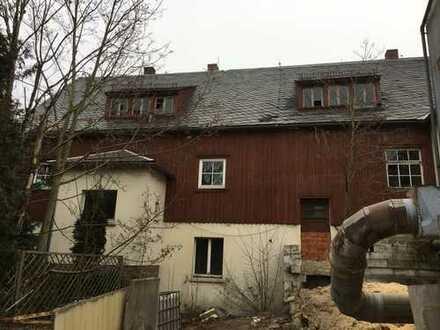 Wohn- und Geschäftshaus mit Anbau im ländlichen Bereich