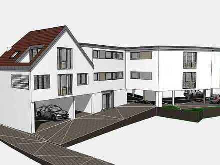 Exklusiver Neubau, Sechsfamilienhaus mit KfW 55 in Oedheim zu verkaufen.