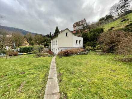 Einfamilienhaus mit Garten in Naturlage in Neuenheim