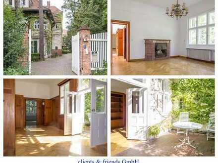 Ihr Haus im Haus, Villa mit sonnigem Südbalkon, teilgewerbliche Nutzung möglich