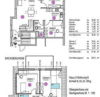 Eigentumswohnung Haus 2 Nr.6 Maisonette Wohnung OG+DG