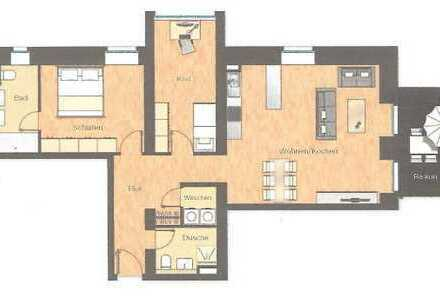 Erdgeschoss bevorzugt? Moderne 3ZK 2 Bäder mit Balkon in guter Wohnlage, Neubau 2013