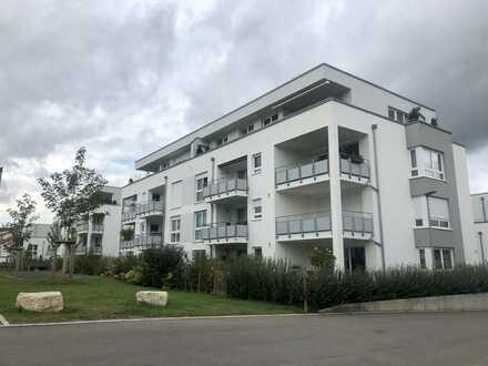 Neubau!! 2,5-Zimmer-Whg mit EBK, Balkon und Aufzug.