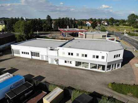 Ehemaliges Autohaus Chemnitz-Grüna incl. zwei Wohnungen zu vermieten