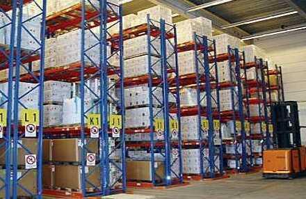 """""""BAUMÜLLER & CO."""" 20.000 m² Logistik - regaliert -"""