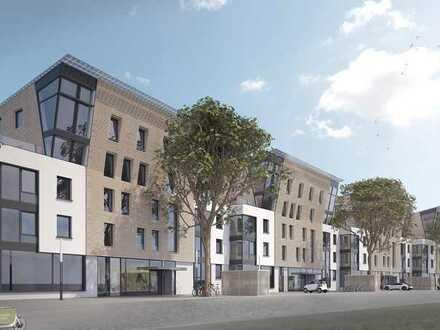Maisonette mit Aussicht: Exklusive Penthauswohnung mit Galerie, Balkon und Dachterrasse