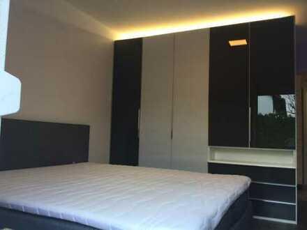 Erstbezug nach Sanierung: exklusive 2-Zimmer-Erdgeschosswohnung mit EBK und Balkon in Karlsruhe