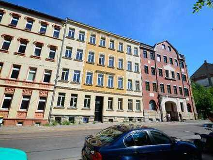 3 Zimmerwohnung in Stötteritz - großer Balkon/FuBo-Hzng./hochw. Laminat/Badradio