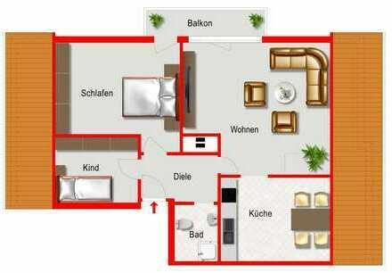 Wohnung mit vielen Möglichkeiten!