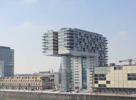 Rheinauhafen, helle 2-Zimmer-Wohnung, Kranhaus Nord, Einbauküche vorhanden