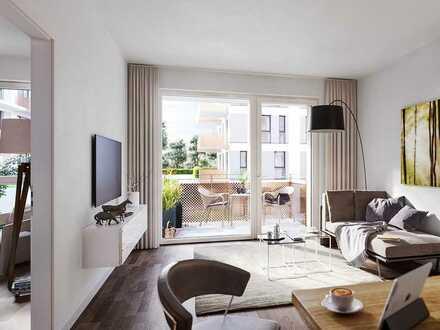 PANDION VILLE - 2-Zimmer-Wohnung mit HWR und zwei Terrassen