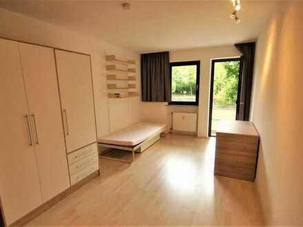 Sonniges ruhiges Balkon-Appartement in Uninähe.