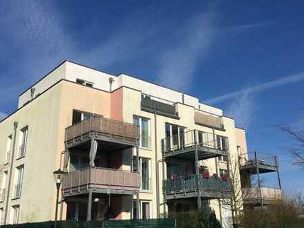 Helle, gut geschnittene 2-Zimmer-Wohnung mit geräumigem Balkon