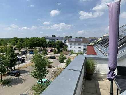 Bezugsfrei! Helle, hochwertige 3,5 Zimmer-DGW in schönem Wohngebiet am Rande von Crailsheim zu verk.