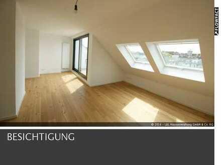 Top Dachgeschoss Wohnung mit Einbauküche & Terrasse in der Innenstadt!