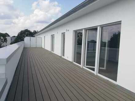 Exklusive 3 Zi. Neubau-Penthouse-Wohnung mit ca 65m² großer Dachterrasse