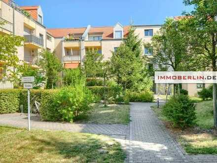 IMMOBERLIN.DE - Perfekte Lage! Vermietete Wohnung mit Südterrasse
