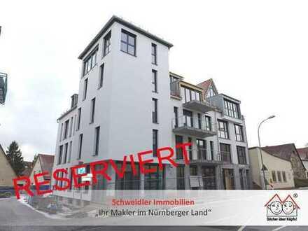 PREISREDUZIERUNG!!! Letzte 3-Zimmer-NEUBAU-Wohnung mit Balkon im Herzen von Lauf