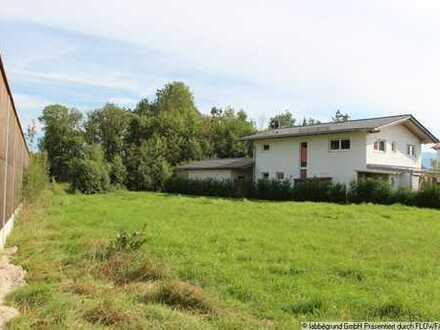 Baugrundstück für Doppelhaushälfte in Bad Aibling