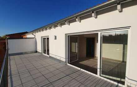 Penthouse-Wohnung mit riesiger Dachterrasse, 3 ZKB, 85 qm, NEU, Zentrale Lage IN-Nordbahnhof