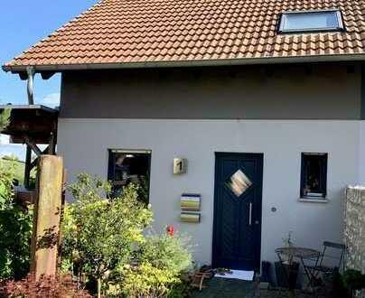 Immo-Frank: Sehr schönes Haus mit traumhaftem Ausblick in Lautersheim