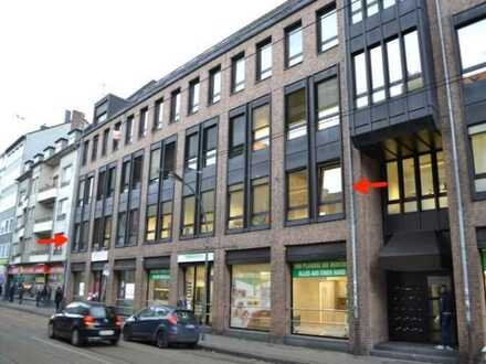 PROVISIONSFREIE Kapitalanlage! Büroeinheit & 4 TG-Stellplätze in zentraler Lage von Düsseldorf