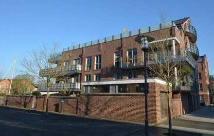 Leer-Nesse ! Moderne Erdgeschoss- Eigentumswohnung mit Tiefgaragenstellplatz Gewerbliche Nutzung...