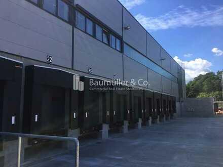 """BAUMÜLLER & CO."" - 10.000 m² Logistik-Neubau - moderne Lagerhalle"