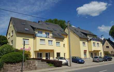 Großzügige 2-Raum-Maisonette, Neubau 1994, ruhige Lage, Küche + Bad mit Fenster, Balkon