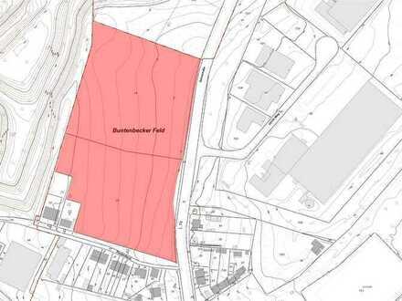 Geplantes Gewerbegebiet mit GE/MI-Ausweisung im Wuppertaler Westen