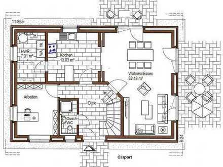 Schönes Haus mit sechs Zimmern in Bremen, Arbergen