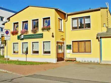 """""""Alles unter einem Dach"""" *Gaststätte mit Kegelbahn und Einfamilienhaus in Zwönitz zu vermieten*"""