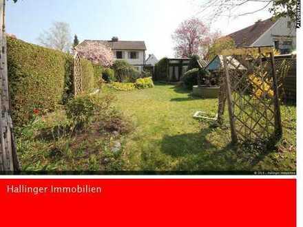 Familiengarten * West-Grundstück zum Bau einer DHH * ruhig!
