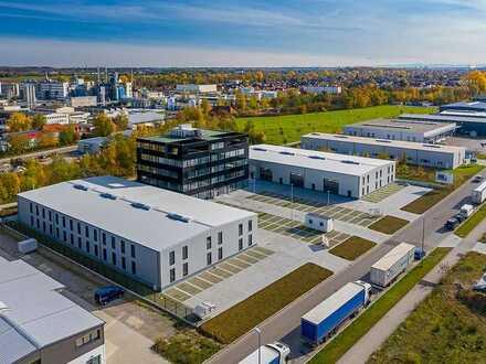 Neubau: Hallen- & Produktionsflächen in Gersthofen