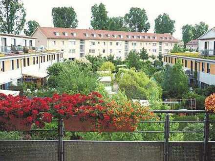 Röthelheimpark: Helle, großzügige 3-Zi Wohnung mit Balkon und Dachterasse