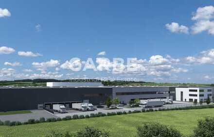 Direkt vom Eigentümer: ca. 10.500 m² Hallenfläche, 10,5 m UKB, 11 Rampen