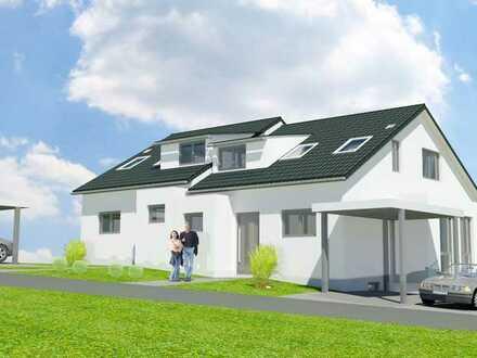 Doppelhaushälfte mit Carport in Tischardt ***NEUBAU***
