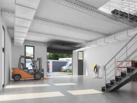 Neubau-Gewerbe (GE04) in top Lage für Handel / Ausstellung / Showroom / Lager