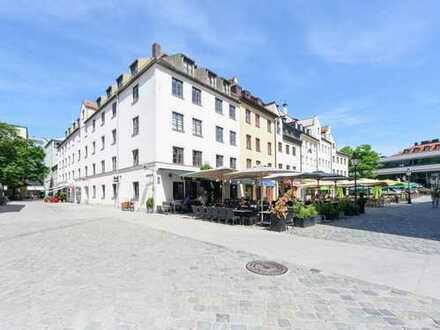 Leben im historischen Zentrum von München