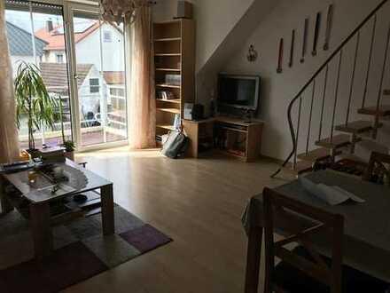 Schöne zwei Zimmer Maisonette Wohnung in Augsburg (Kreis), Adelsried