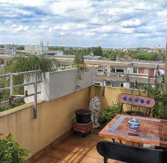 Geräumige 2-Zimmer-Wohnung im  8. Obergeschoss mit schöner Fernsicht!
