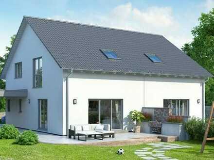Doppelhaushälfte Schlüsselfertig mit Grundstücksteil - Jetzt starten ins Eigenheim