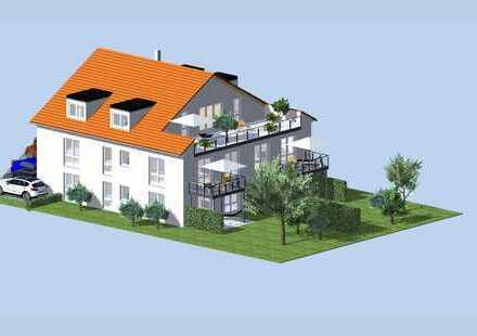 ***HTR Immobilien GmbH*** Neubau-Luxus-Wohnung in Faulbach!!! Barrierefrei, keine Käuferprovision!!!