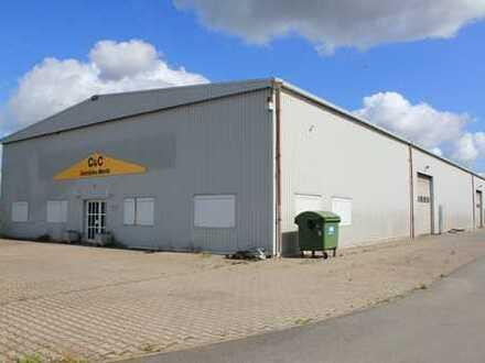 Ideale Lagerhalle mit Bürotrakt in Tangermünde - zur Miete!!